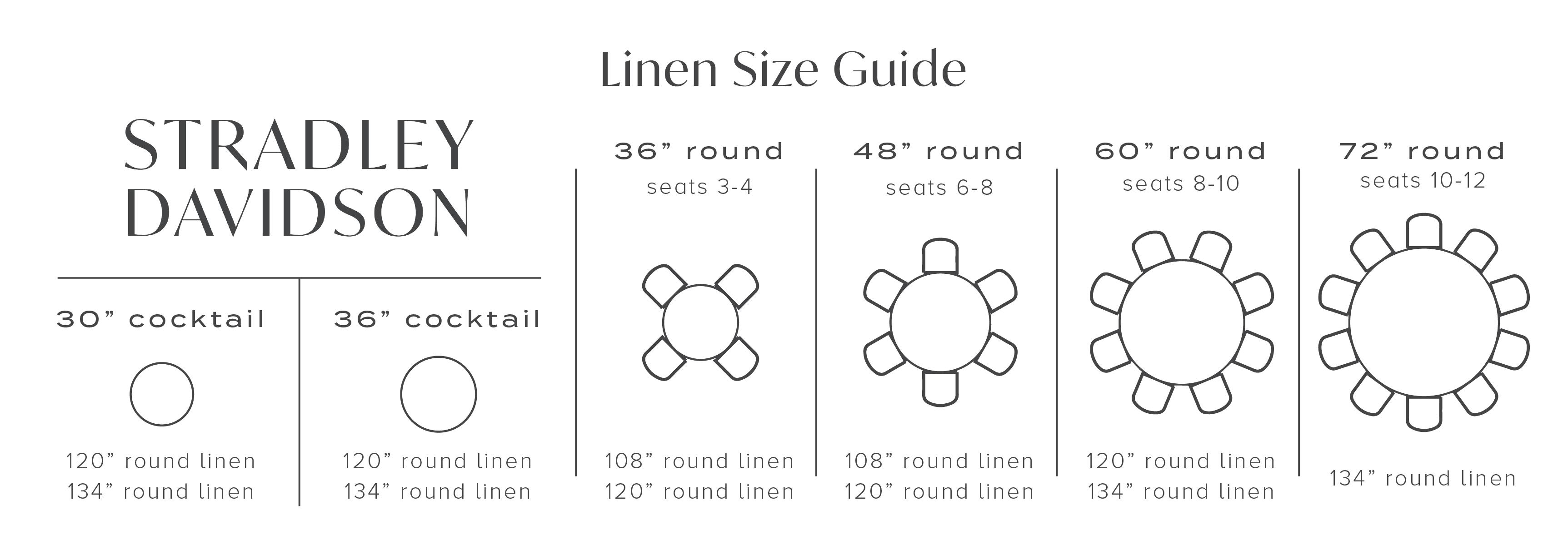 Linen Size Guide